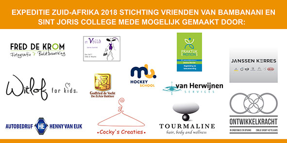 Spandoek Expeditie Zuid-Afrika Sint Joris College