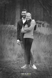 zwart-wit fotoreportage op de hei_Eindhoven_Valkenswaard_Waalre
