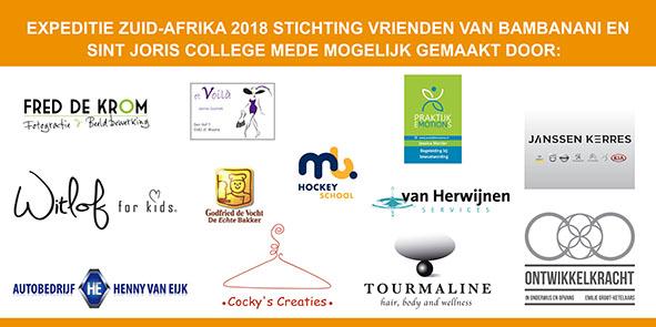 Spandoek Expeditie Zuid-Afrika Sint Joris College