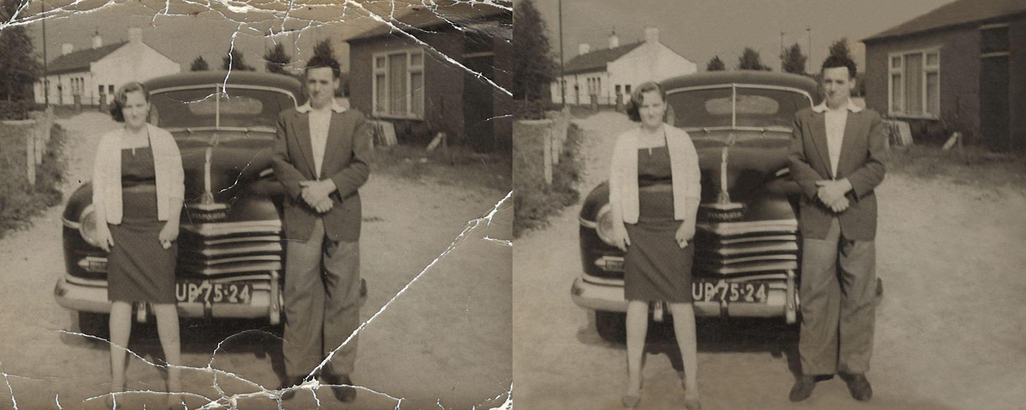 Foto restauratie_uw oude foto's weer als nieuw_herstel van oude en beschadigde foto's