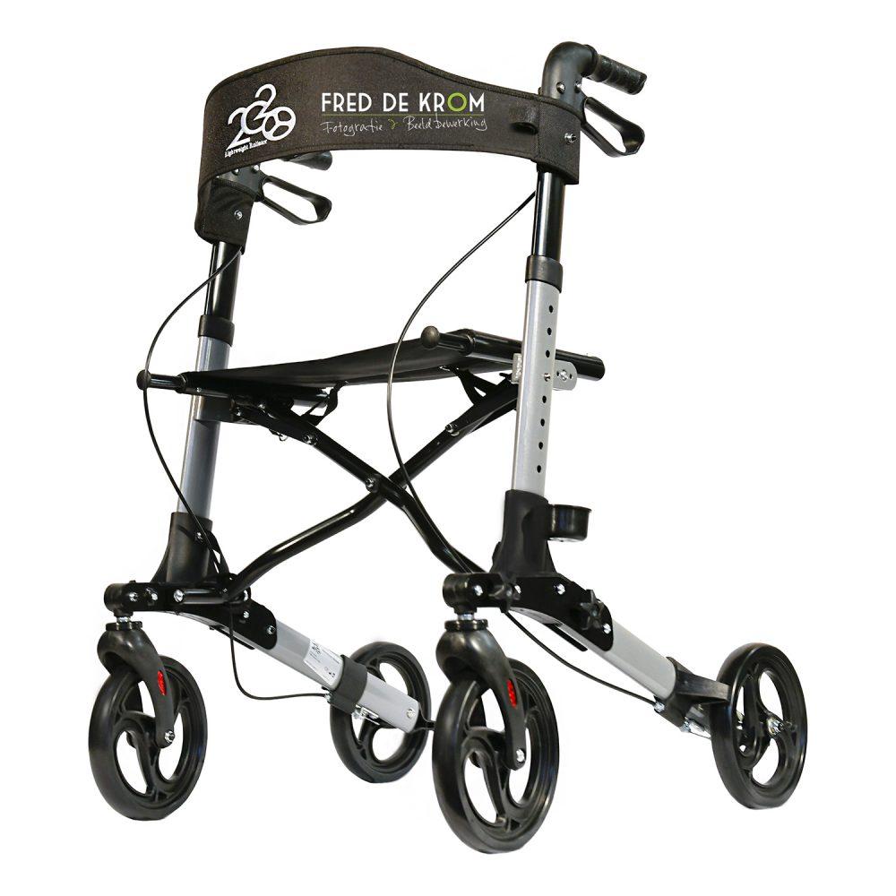 Lichtgewicht Rollator 2020 van DV Mobility
