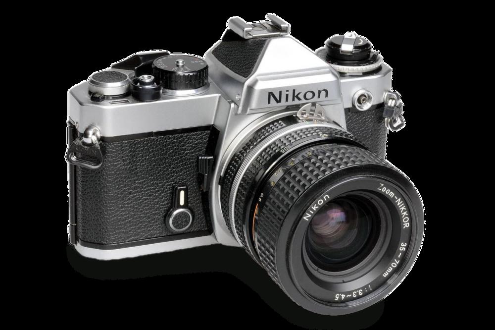 Mijn eerste Nikon mechanische camera.