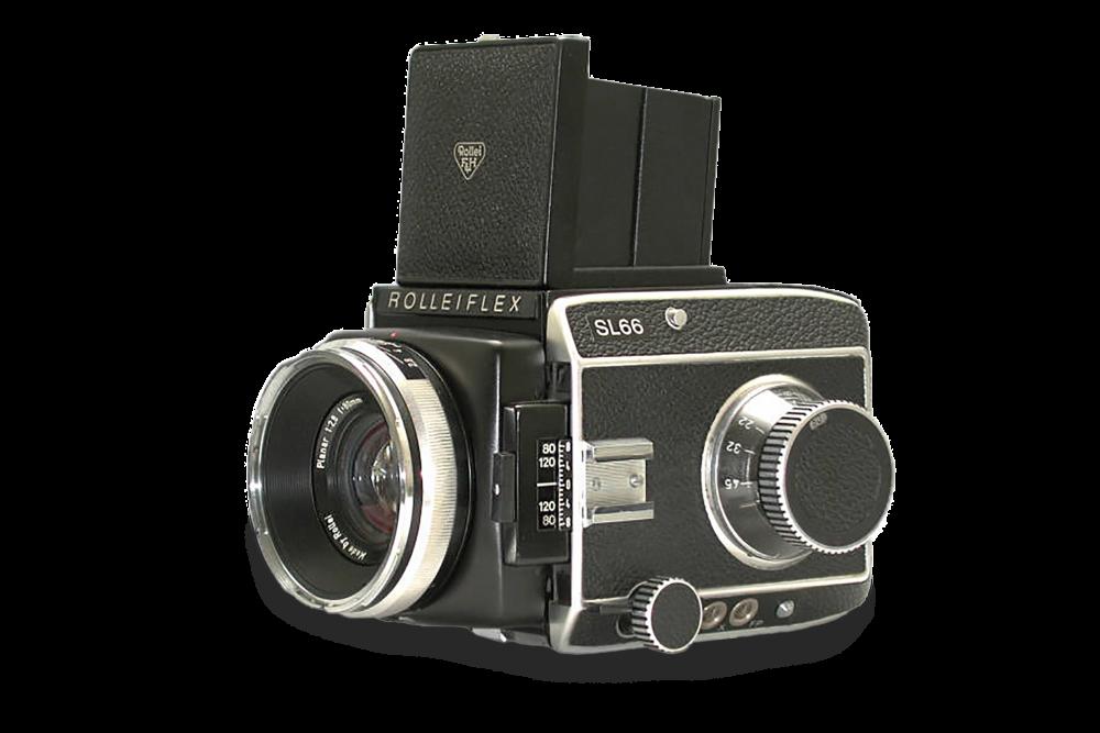 Rollei SL 66, mijn eerste middenformaat camera.