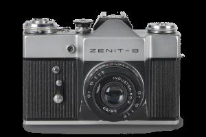 Mijn Zenit B, een oerdegelijke Russische camera.