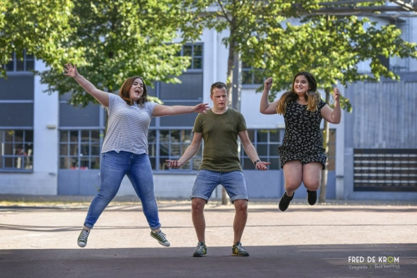 spontane familie fotoshoot op Strijp S Eindhoven